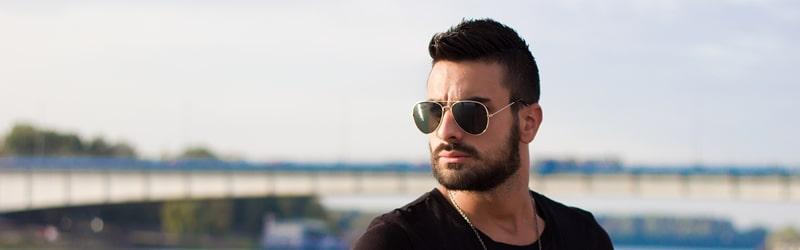 Tendências de óculos de sol masculino